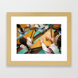 Kysle - Instrument of the Mari People Framed Art Print