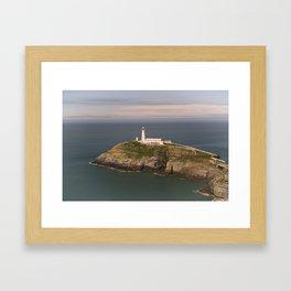 The South Stack Lighthouse Framed Art Print