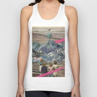 rocks Tank Tops featuring Rocks by Sarah Eisenlohr