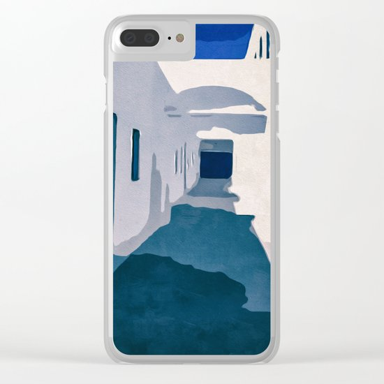 Tunisian Street Clear iPhone Case