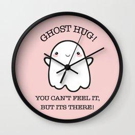 Ghost Kawaii BOO!   Halloween Wall Clock