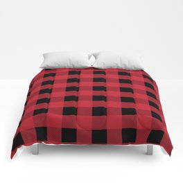 Red Flannel Comforters