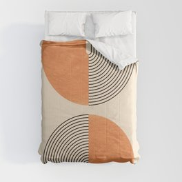 Harmony - Mid Century Modern  Comforters