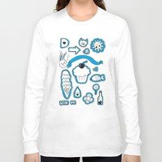 Sticker World Long Sleeve T-shirt