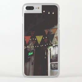Night out Clear iPhone Case