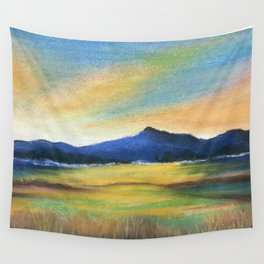 Morning Bliss, Imaginary Landscape Wall Tapestry