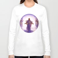 christ Long Sleeve T-shirts featuring Christ-Kay by Disk System