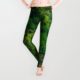 The Bright Green Forest (Color) Leggings