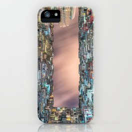 Hong Kong architecture iPhone Case