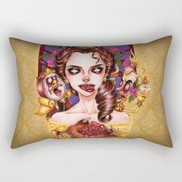 The Madness of Beauty Rectangular Pillow