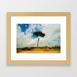 Rome. Framed Art Print