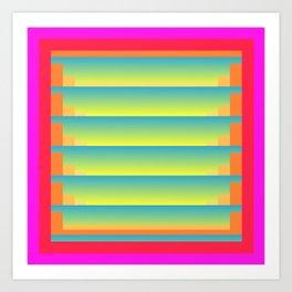 Gradient Fades v.5 Art Print
