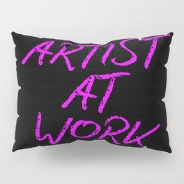 Artist at Work (pink) Pillow Sham