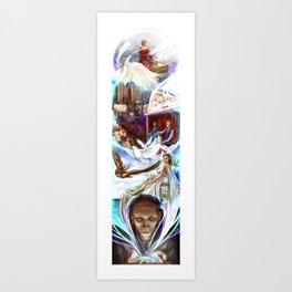 Micah's Vision Art Print