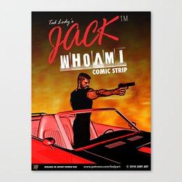 Official JackWhoAmI Comic Strip Merchandise Canvas Print