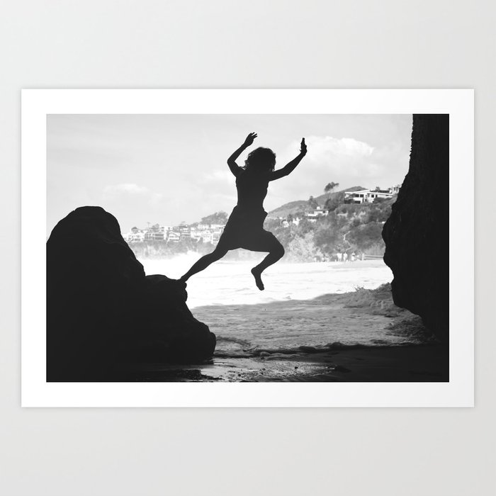 OUT AND UP Art Print
