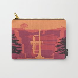 Music Mountains No. 3 Carry-All Pouch