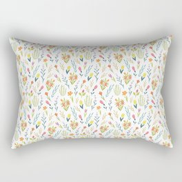 Plants and flowers Rectangular Pillow