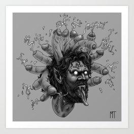 Gorgon: DickHead Art Print