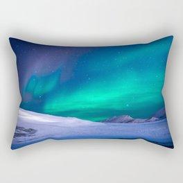 Northern Lights (Aurora Borealis) 15. Rectangular Pillow