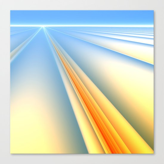 The Blinding Light of Day Canvas Print