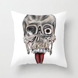 Skull Design Throw Pillow