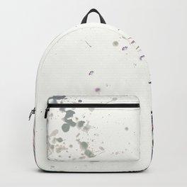 BOHO PEACOCK FEATHER Backpack