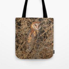THE OLD BARN OWL Tote Bag