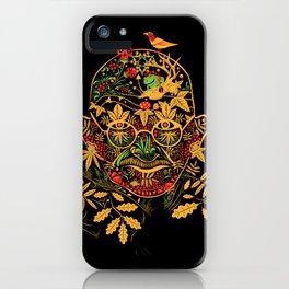 Gandhi Psychedelic Khokhloma iPhone Case
