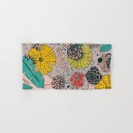 Olga loves flowers Hand & Bath Towel