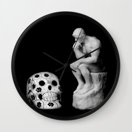 The Thinker and Death Wall Clock