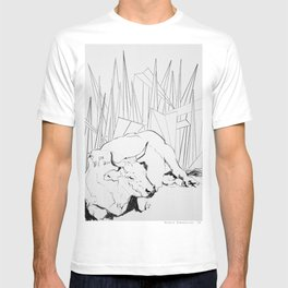Collage Cow 41 T-shirt