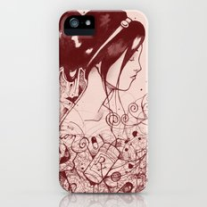 Fiction and Beauty iPhone (5, 5s) Slim Case