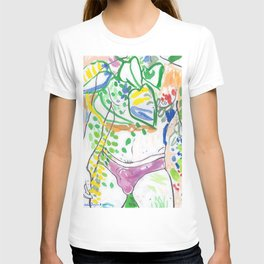 Y-front Garden T-shirt