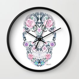 Colorskull Wall Clock