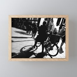 Berlin's streets in black and white 2 Framed Mini Art Print