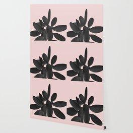 Black Blush Cactus #2 #plant #decor #art #society6 Wallpaper