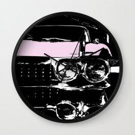 Cadillac Dreams Wall Clock