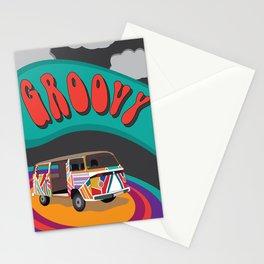 Groovy Camper Van Fantasy Stationery Cards
