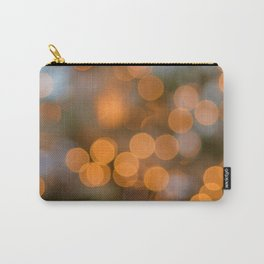 Golden Lights on a Christmas Tree (Color) Carry-All Pouch
