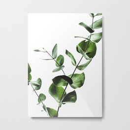 Green Plants Metal Print