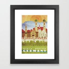 Munich Germany Framed Art Print