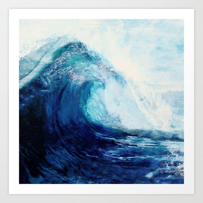Waves II Kunstdrucke