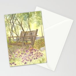 Bedrock Garden Spring on In and Out Pathway Stationery Cards