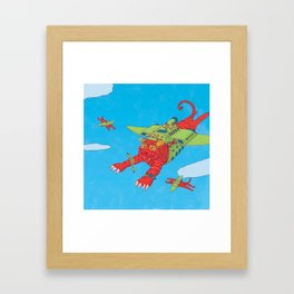 Flying Tigers Framed Art Print