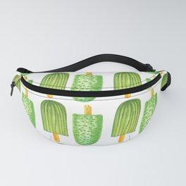 Cactus Popsicles Pattern #society6 #decor #buyart Fanny Pack