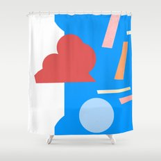 geometry 1 Shower Curtain