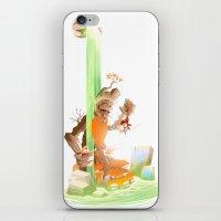 hero iPhone & iPod Skins featuring Hero by Kristoffer Vela