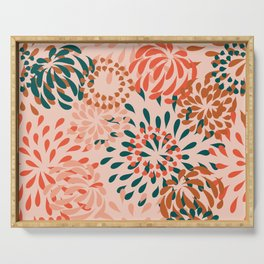 flowerbomb_palm springs palette Serving Tray