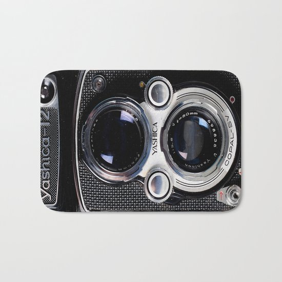 Photography camera 4 Bath Mat